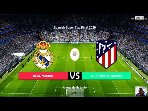 Pes 2020 Spanish Super Cup Final 2020 Real Madrid Vs Atletico