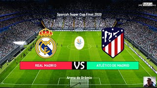 PES 2020   Spanish Super Cup Final 2020   Real Madrid vs Atletico Madrid   Penalty Shootout Gameplay