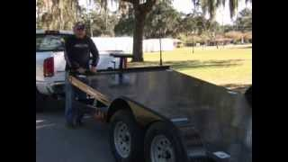 Tilt Trailers for hauling cars