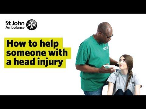 Head Injury Symptoms & Advice - First Aid Training - St John Ambulance