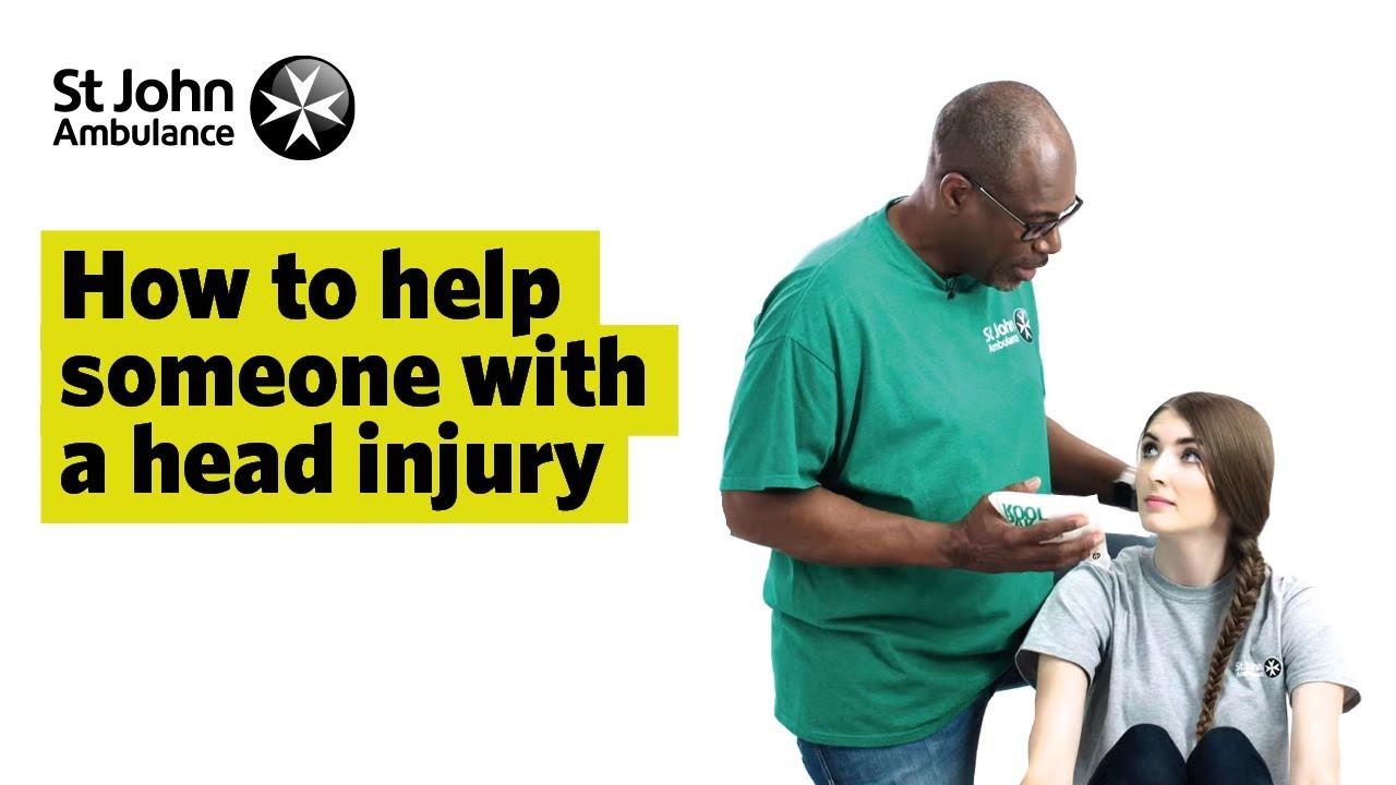 Head Injuries - First Aid - St John Ambulance
