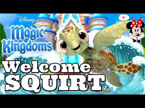 Disney Girl LIVESTREAM! WELCOME SQUIRT! FINDING NEMO LIMITED TIME EVENT! Disney Magic Kingdoms