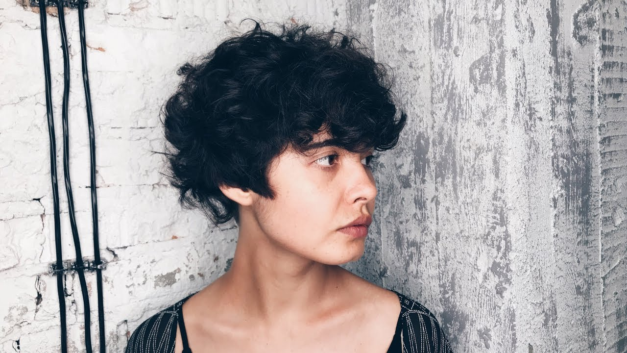 How To Cut Curly Hair Short Women S Haircut Youtube