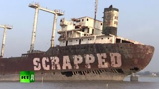 Scrapped: the deadly business of dismantling ships in Bangladesh thumbnail