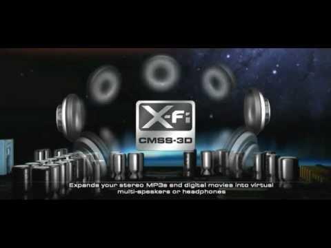 Sound Blaster X-Fi Titanium - Intense audio for games, music and movies
