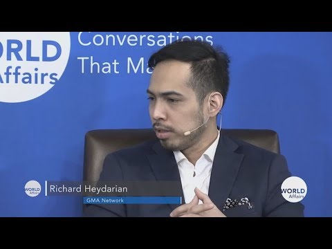 Richard Heydarian book talk at World Affairs Council San Francisco