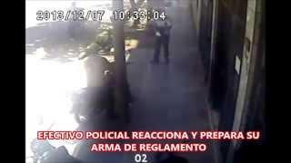 ANTIDROGAS PUCALLPA - POLICIA ANTIDROGAS ES HERIDO, FRUSTA ASALTO Y DA MUERTE A DELINCUENTE