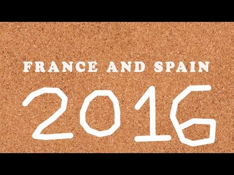 France & Spain 2016 Slideshow