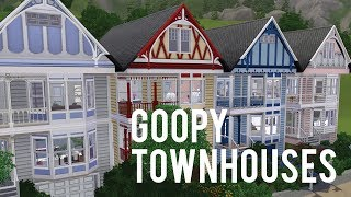 The Sims 3 Speed Build—Goopy Townhouses—Part One