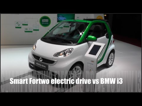 Smart Fortwo Electric Drive Vs Bmw I3 Youtube