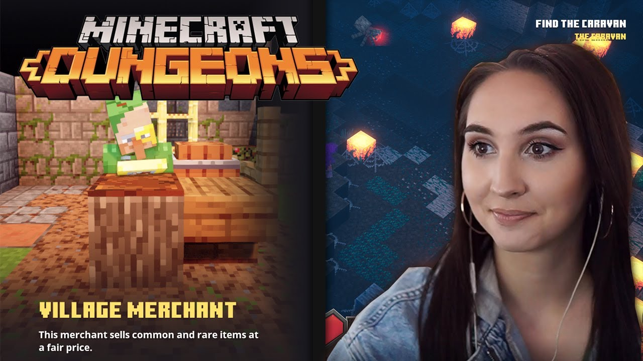 Minecraft Dungeons Gameplay - Episode 2 - Creeper Woods (with Facecam)