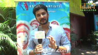 Vishnu At Mapla Singam Movie Team Interview