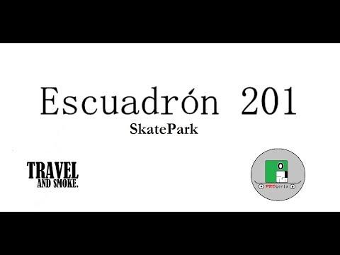 """Conoce el parque """"Escuadrón 201"""" Skatepark"""