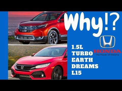 1.5L Turbo Honda Oil Dilution Explained CRV Accord Civic