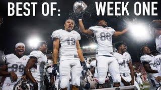 Best of week one: college football 2017 highlights