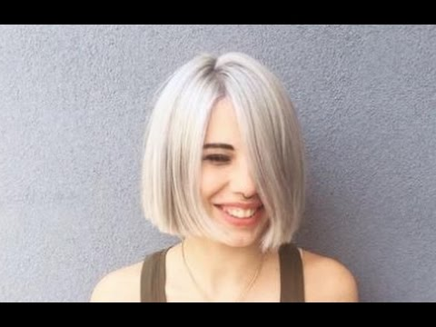 Short Blunt Cut Bob Hairstyle Youtube