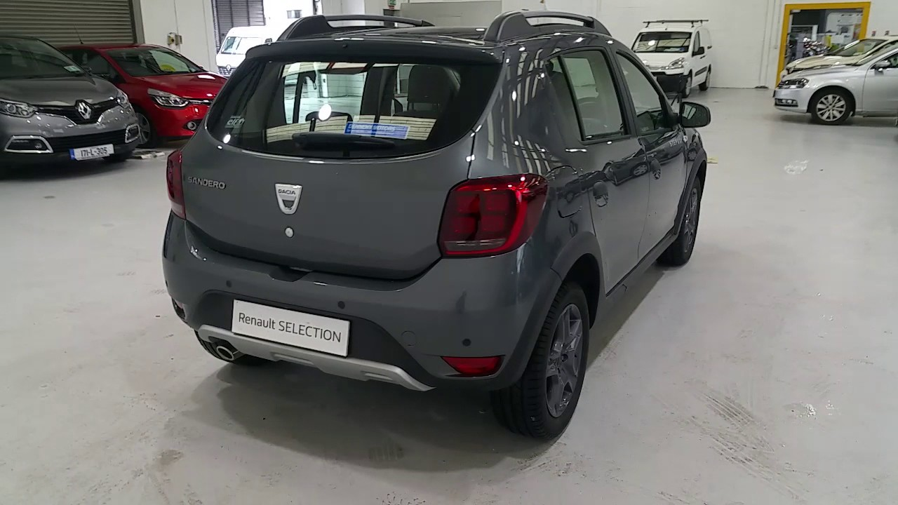 171l4029 2017 dacia sandero stepway se summit 1 5 dci 18 295 youtube. Black Bedroom Furniture Sets. Home Design Ideas