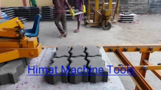 Fly Ash Brick Making Machine Operation | Himat Machine Tools