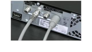 ブルーレイディスクレコーダーと液晶テレビの接続方法 ブルーレイレコーダー 検索動画 3