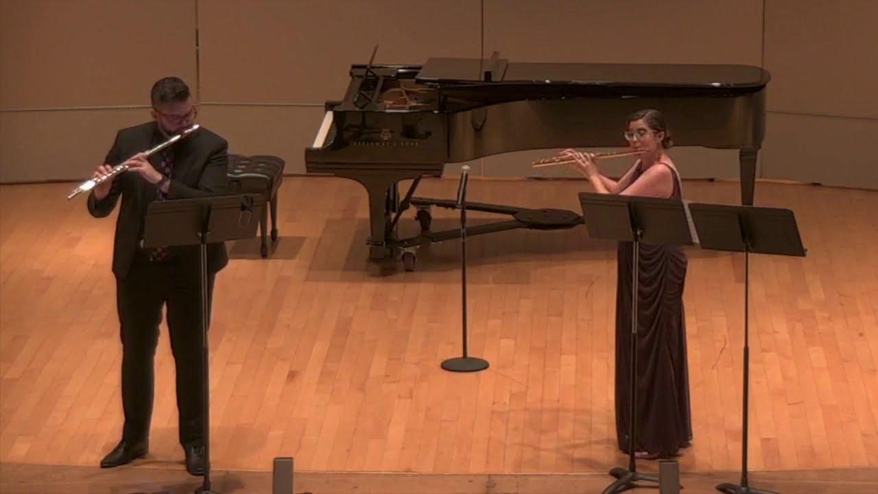 Matthew Angelo & Mary Matthews in Flute Duo Recital