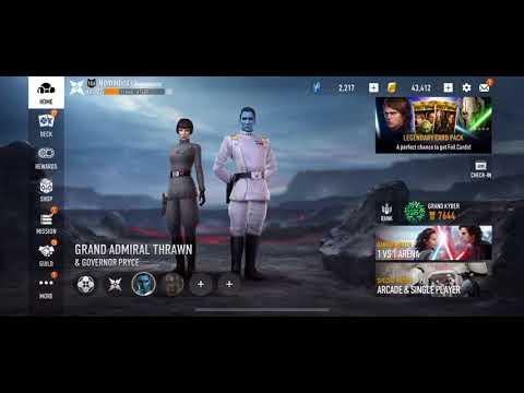 Star Wars: Force Arena - Thrawn Blues 3.0