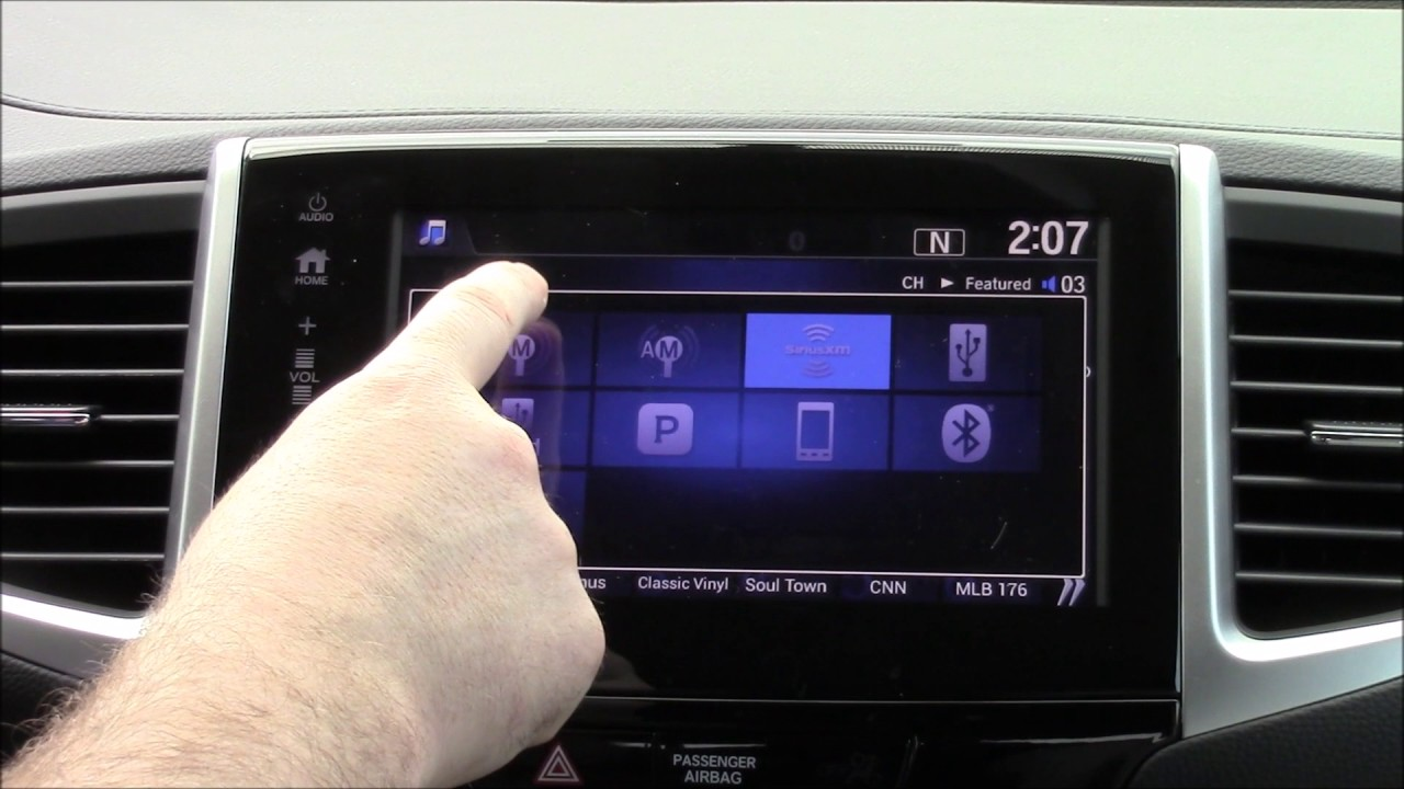 2017 Honda Pilot Radio Preset Instructions