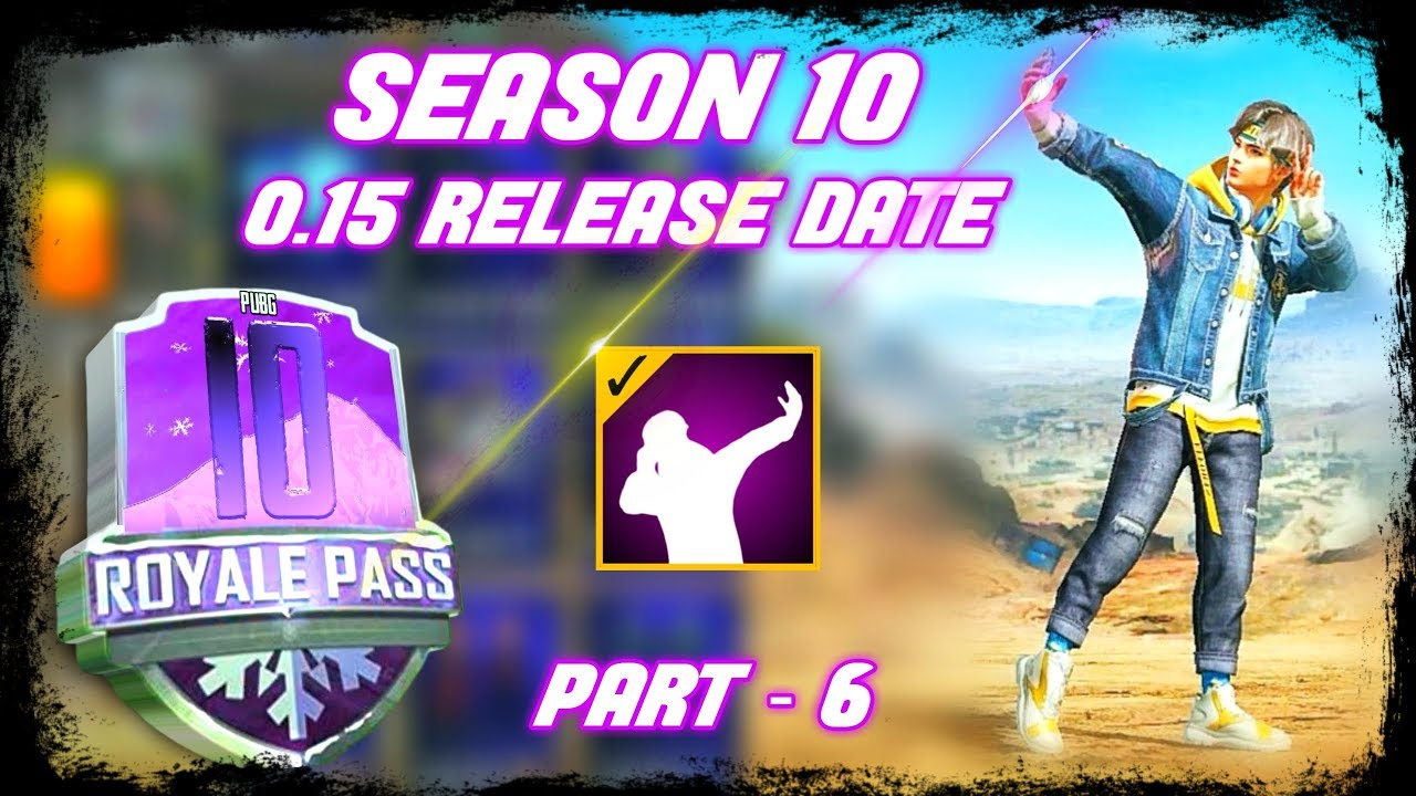 PUBG MOBILE SEASON 10 AND 0.15.0   NEW UPDATES AND LEAKS PART 6