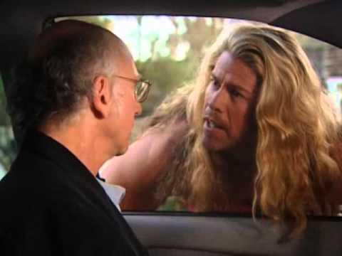 Larry David meets Thor