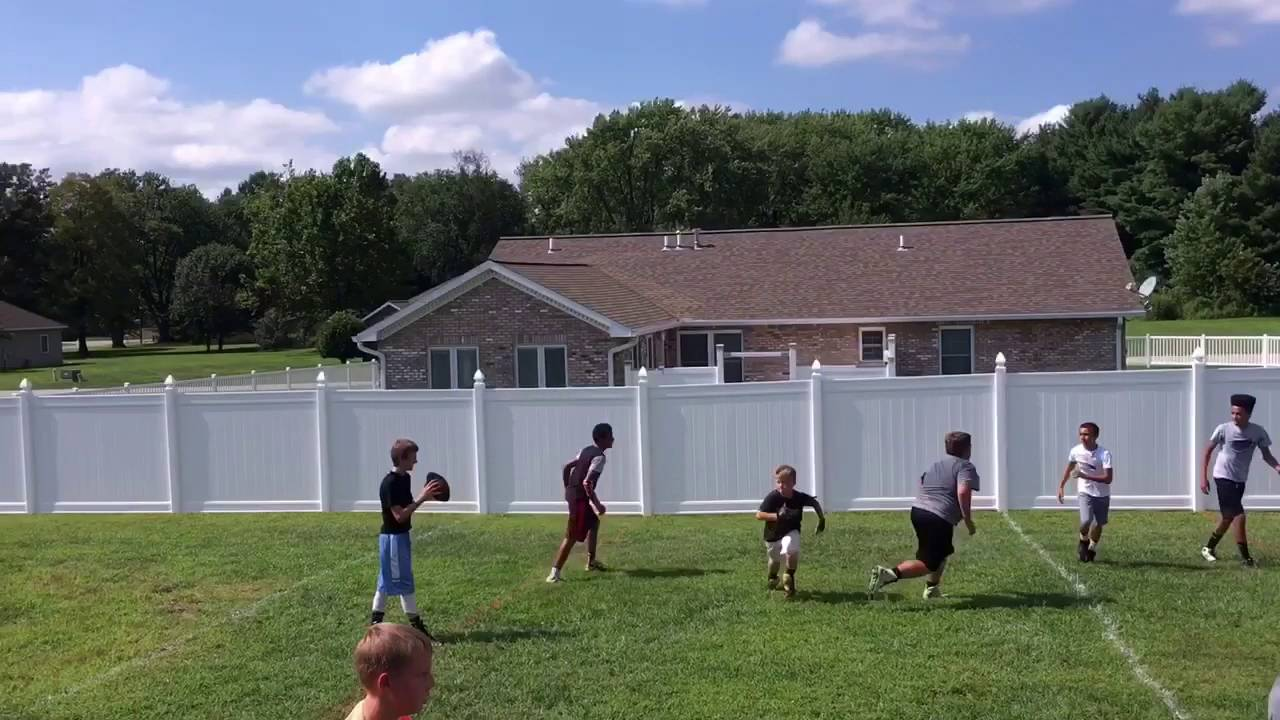 backyard football league youtube