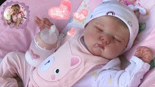 CHUBBY CHEEKED REBORN BABY GIRL BOX OPENING