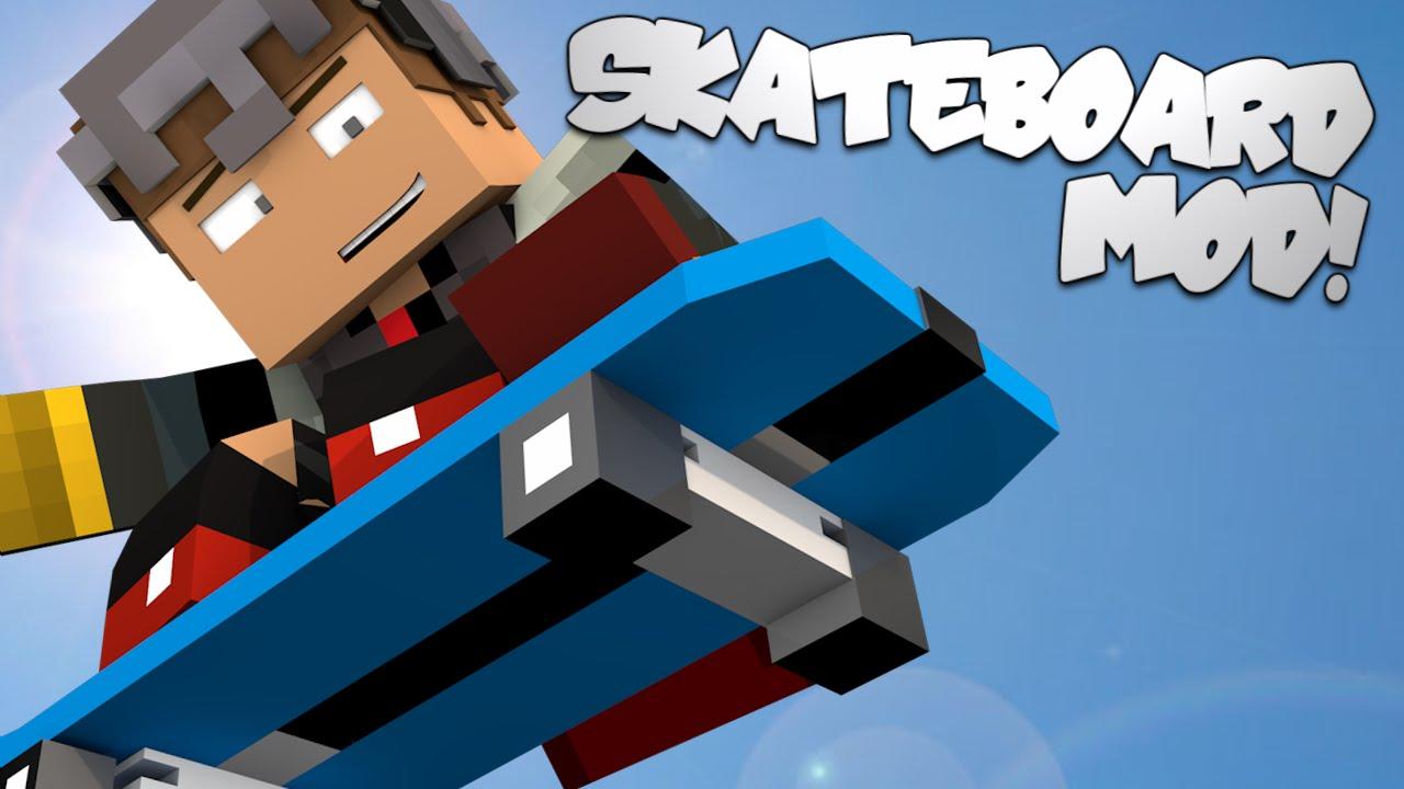 мод на скейтборд в майнкрафт 1.7.10 #6