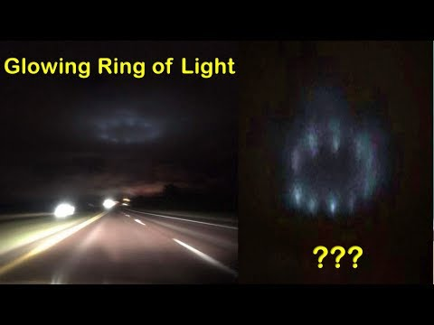 Glowing Ring of Light Hovers Over Road In Minnesota For Four Minutes