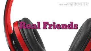 Camila Cabello - Real Friends - (Lyric video)