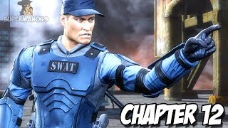 "STRYKER IS AWESOME! - Mortal Kombat 9: Story Mode ""Stryker"" Gameplay (Chapter 12)"
