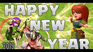 HAPPY NEW YEAR CLASHERS|NEW YEAR SPECIAL VIDEO | CLASH OF CLANS|SUPERCELL|HARDCORE GAMER HIMANSHU