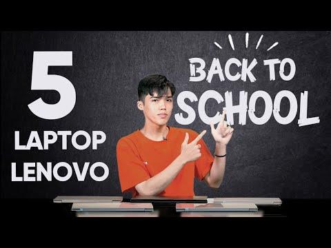 5 Laptop Lenovo đáng mua nhất mùa Back To School 2020