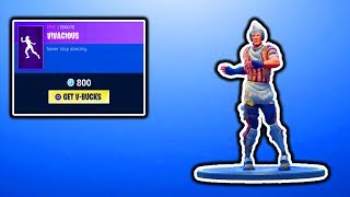 FORTNITE NEW VIVACIOUS EMOTE! FORTNITE ITEM SHOP UPDATE! DAILY ITEM SHOP COUNTDOWN! V-BUCKS GIVEAWAY