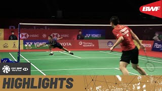 YONEX Thailand Open | Ginting was up against it versus three-time World Junior Champion Vitidsarn