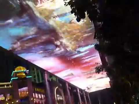 Biggest LED Screen in the World - The Place - Beijing China