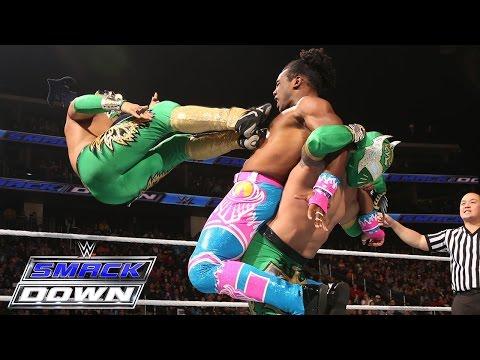 The Lucha Dragons Vs. The New Day (Kofi Kingston & Xavier Woods): SmackDown – 17. Dezember 2015