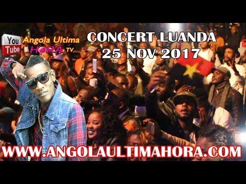 ANGOLA : PUBLICITE IBRATOR CONTRE MAITRE EN CONCERT LUANDA CASSEQUELE