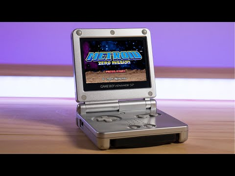 Game Boy Advance SP in 2021? - My New Favorite Handheld!