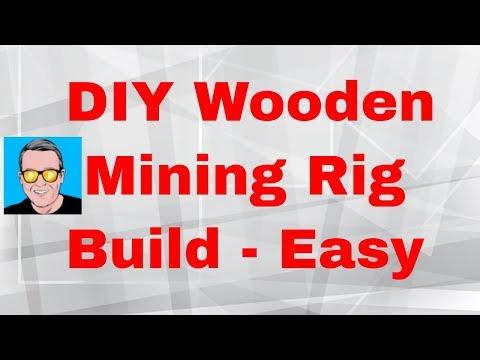 DIY Wooden Mining Rig