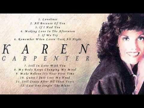 Karen Carpenter's Greatest Hits Full Album - Best Songs Of Karen Carpenter