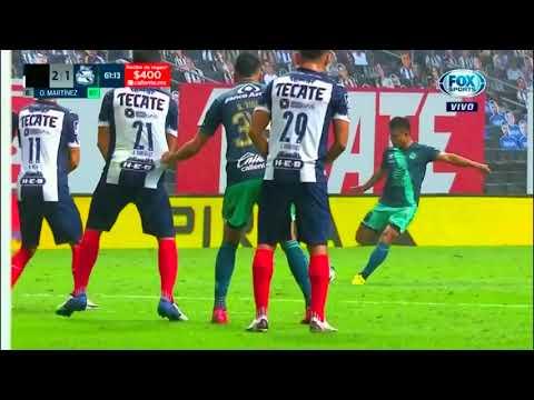 Monterrey 2 - [1] Puebla - Osvaldo Martinez 61'