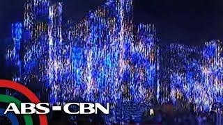 TV Patrol: Makukulay na ilaw sa Ayala Triangle Gardens