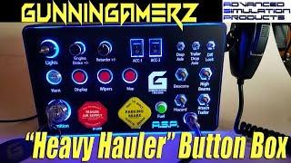 "GunninGamerz Edition ""Heavy Hauler"" Button Box by A.S.P."
