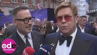ROCKETMAN: Elton John says he 'wouldn't change one thing about it'