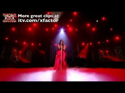 Rebecca Ferguson sings Why Dont You Do It Right  The X Factor  show 3  itvcomxfactor