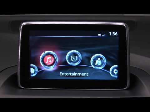 How to use the USB and Auxiliary Inputs on the Mazda Connect Infotainment System